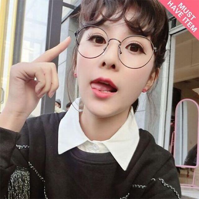 ❤️韓國 復古圓鏡框眼鏡