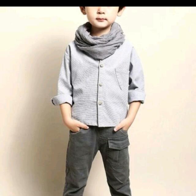 男童 蝙蝠衫 襯衫 口袋精靈 神奇寶貝