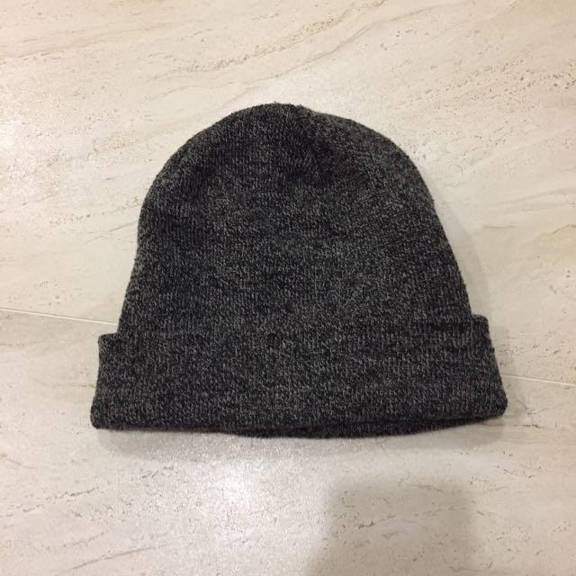 加拿大 GARAGE 毛線帽 Grey Specked Knit Hat Beanie
