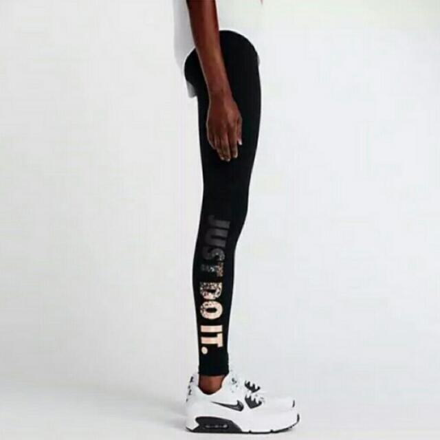 保留 正版 Nike緊腳棉褲 M