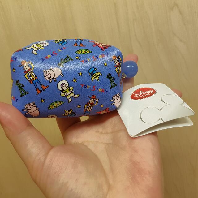 日本帶回 TOY  STORY  寶藍零錢包