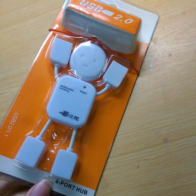 多孔 USB 插槽