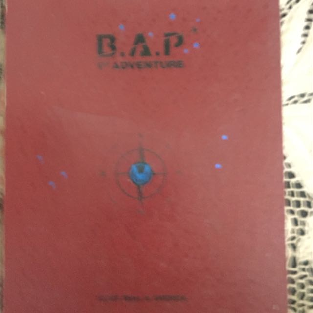B.A.P 1st Adventure DVD