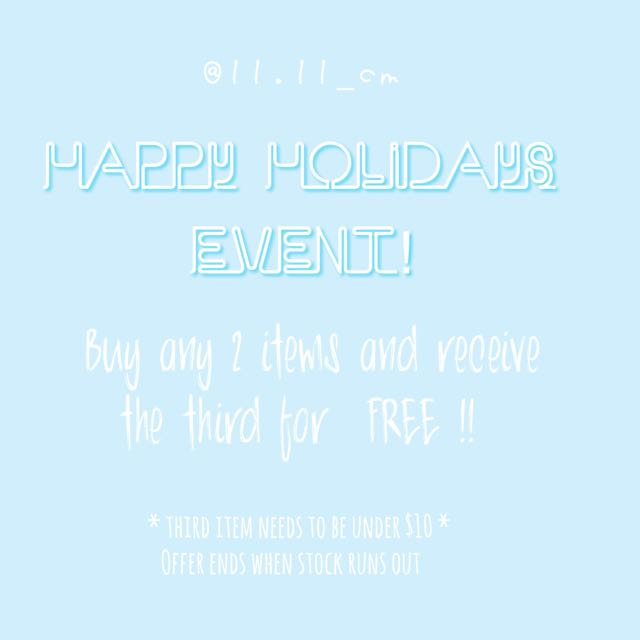 Big Holiday Clearance Event!!!