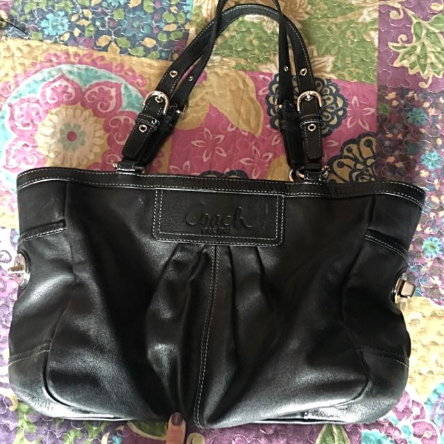Black Coach Handbag
