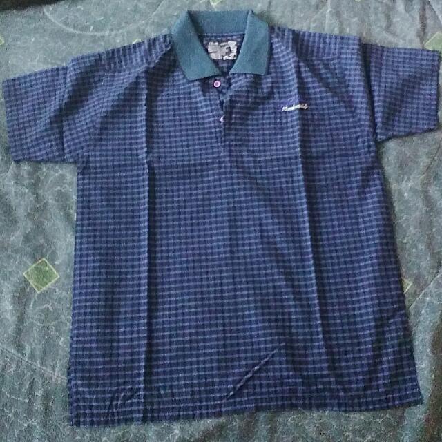Blue Polo T Shirt