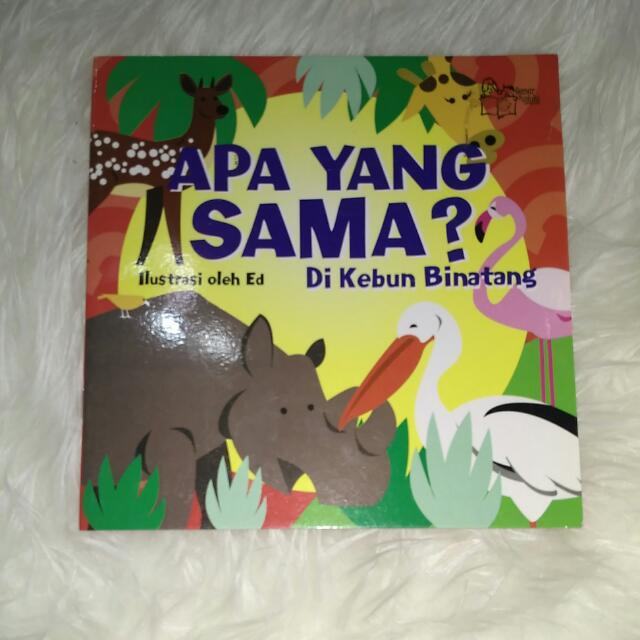 Buku Anak: Apa Yang Sama