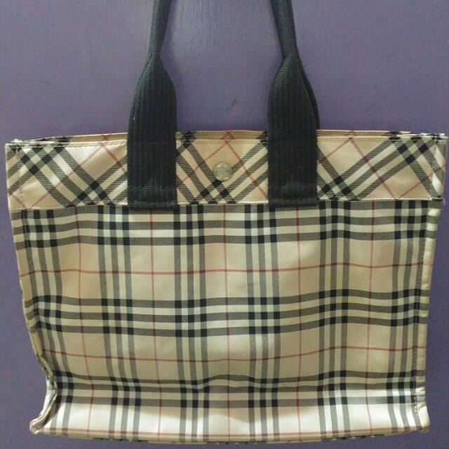 Burberry Bluelaber Hand Bag