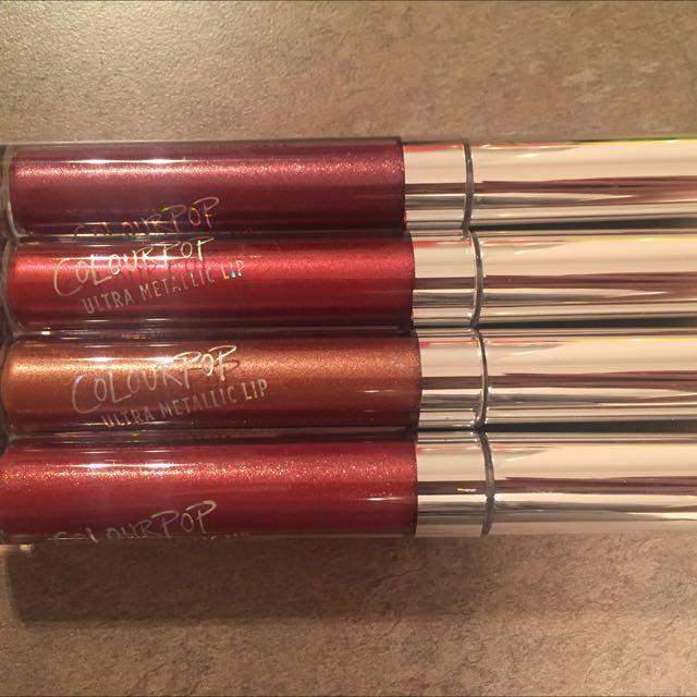 Colourpop Ultra Metallic Liquid Lipstick
