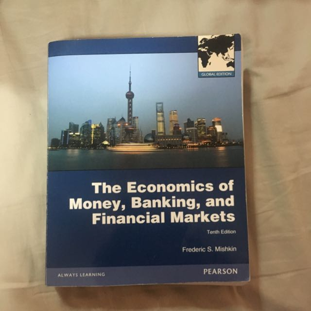 EC 3332 The Economics Of Money, Banking And Financial Markets