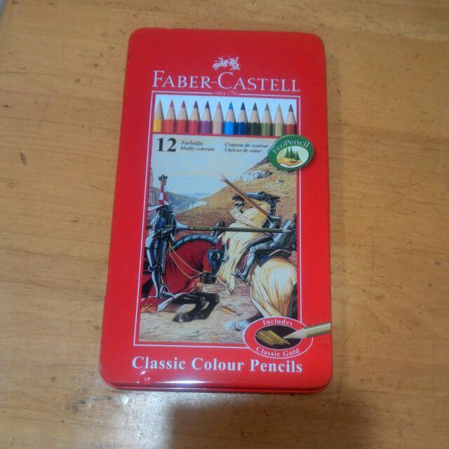 Faber Castell 油性色鉛筆
