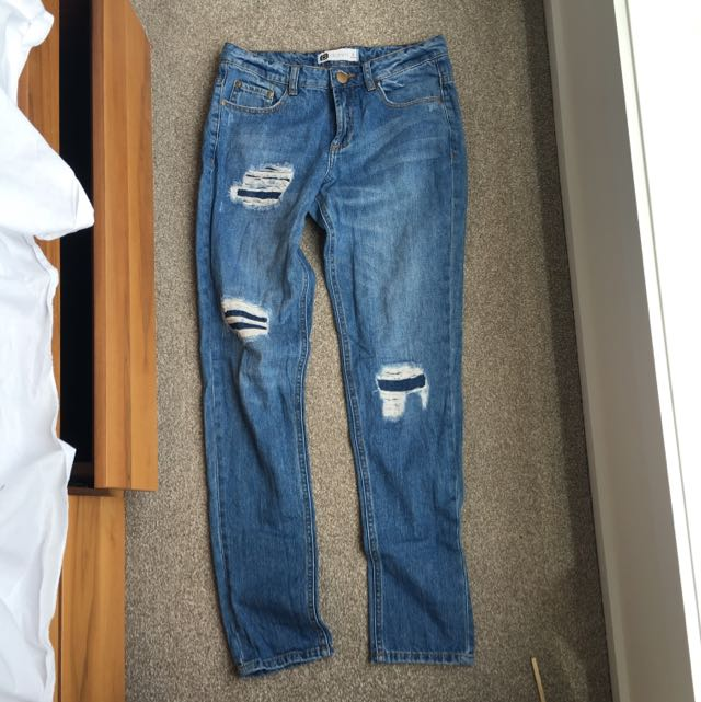 Glassons Distressed Boyfriend Jeans