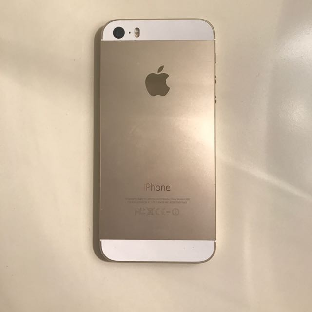 Unlocked Gold iPhone 5s - 16 gb
