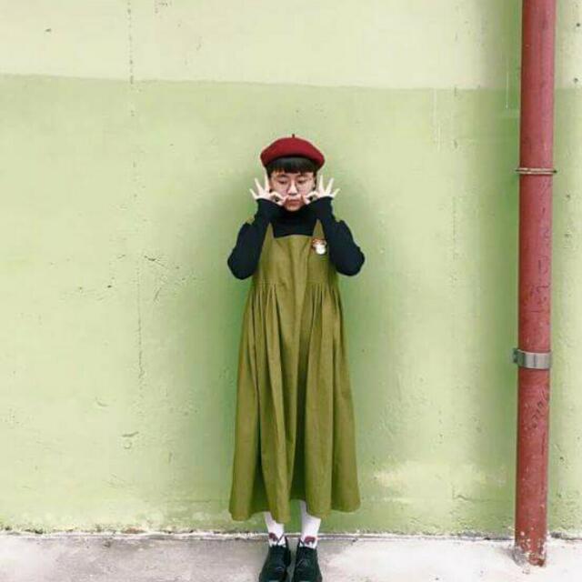 HEY Q 抹茶綠洋裝