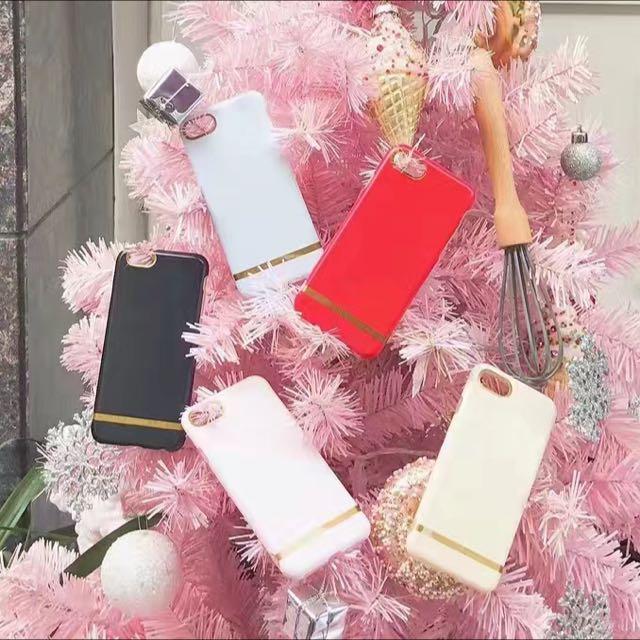 馬卡龍金邊手機殼iPhone手機殼iphone7/iphone6/plus