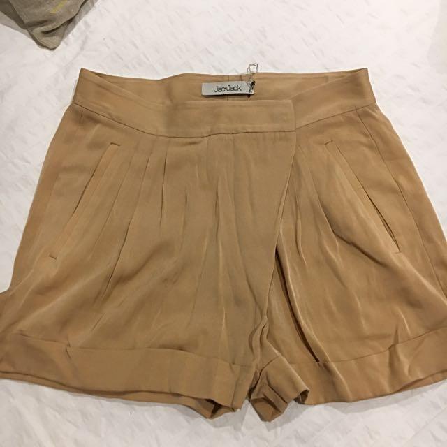 Jac + Jack Shorts - Amber/blush - Size 6