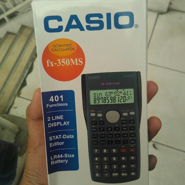 Kalkulator Casio FX 350 MS