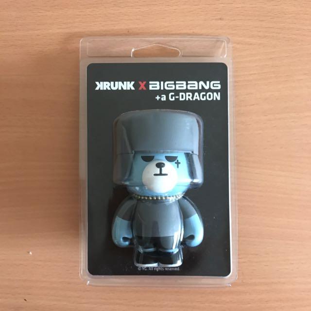 KRUNK X BIG BANG Art Toy (G-Dragon) +α