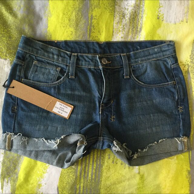 Ksubi denim shorts Size 27 - $60