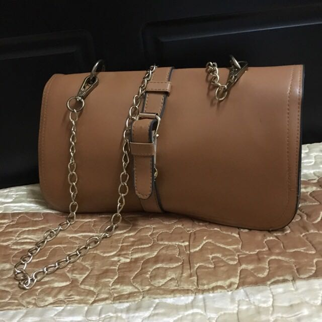 Ladies Structured Sling Bag