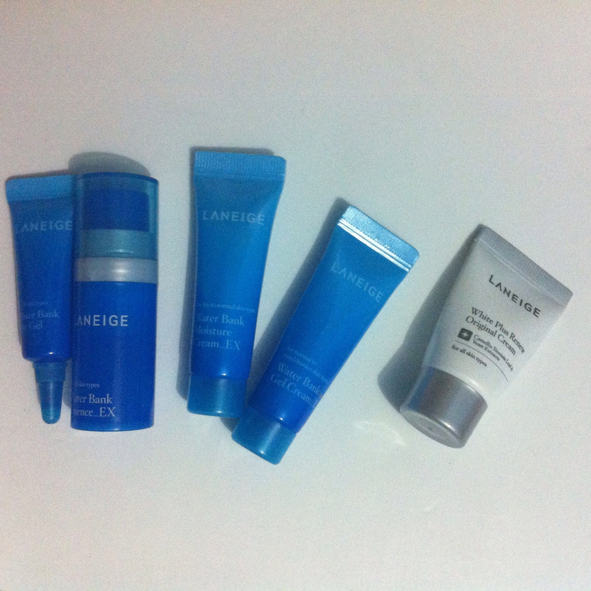 LANEIGE Water Bank Trial Kit White Plus Renew Cream