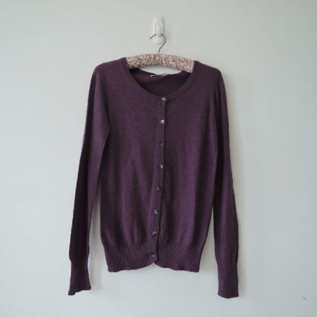 Lowrys farm 優雅紫色棉質小外套