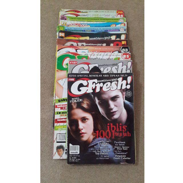 Majalah Gfresh, Inspirasi dan Marketing