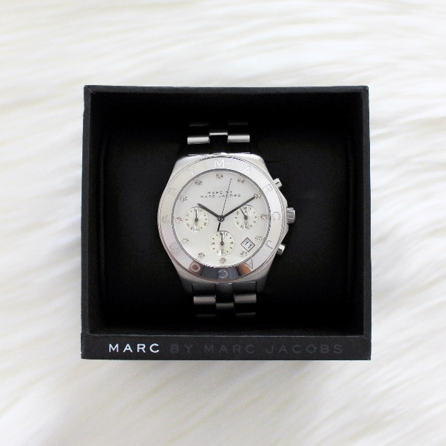 Marc by Marc Jacobs Watch - White Dial Stainless Steel Ladies Watch (MBM3100)