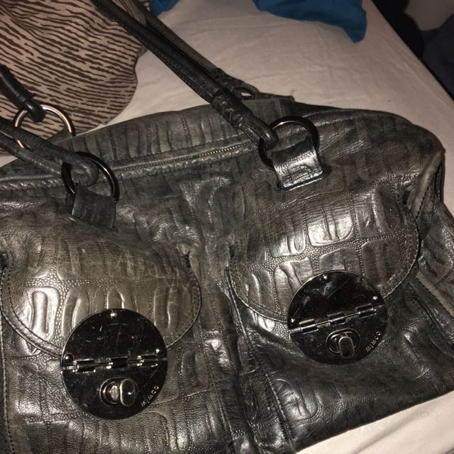 mimco large turnlock bag