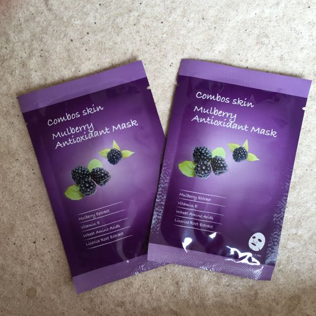 Mulberry Antioxidant Face Mask