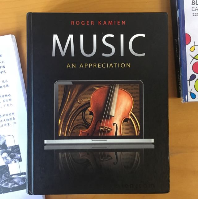 Music an appreciation roger kamien books stationery fiction on photo photo photo fandeluxe Choice Image