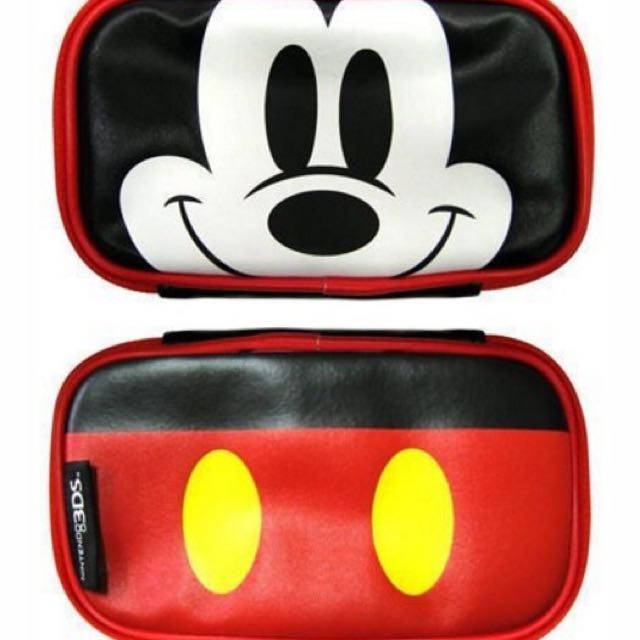 N3DS 3DS Tenyo 迪士尼米奇 保護包 主機包 任天堂原廠授權