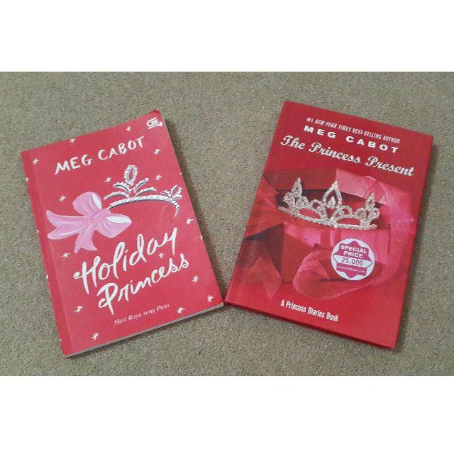 Novel Meg Cabot Holiday Princess & The Princess Present (Indo&Eng)