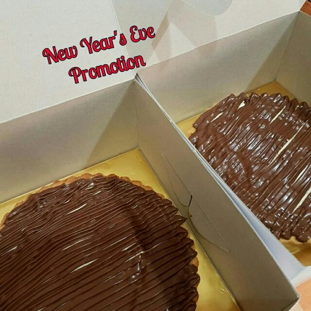 Nutella Cheese Tart Size 7 Inch Food Drinks Baked Goods On Carousell