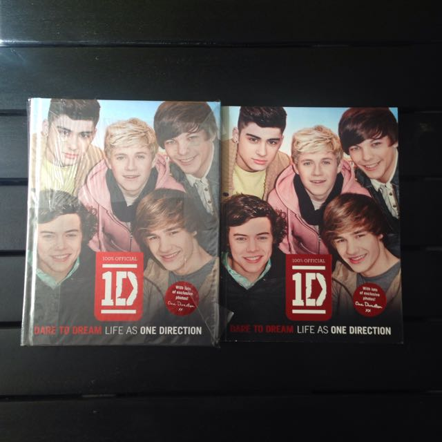 One Direction Dare To Dream (paperback)