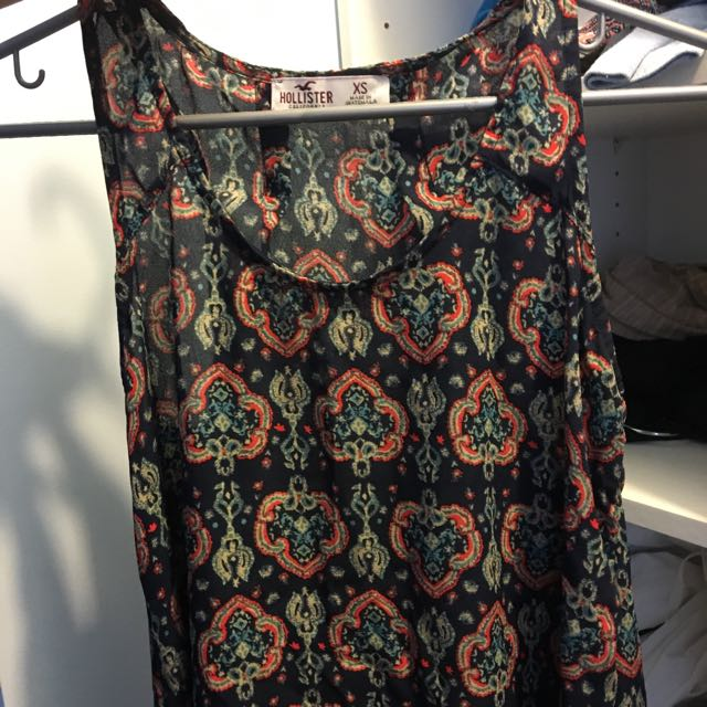 Patterned Tank Tops