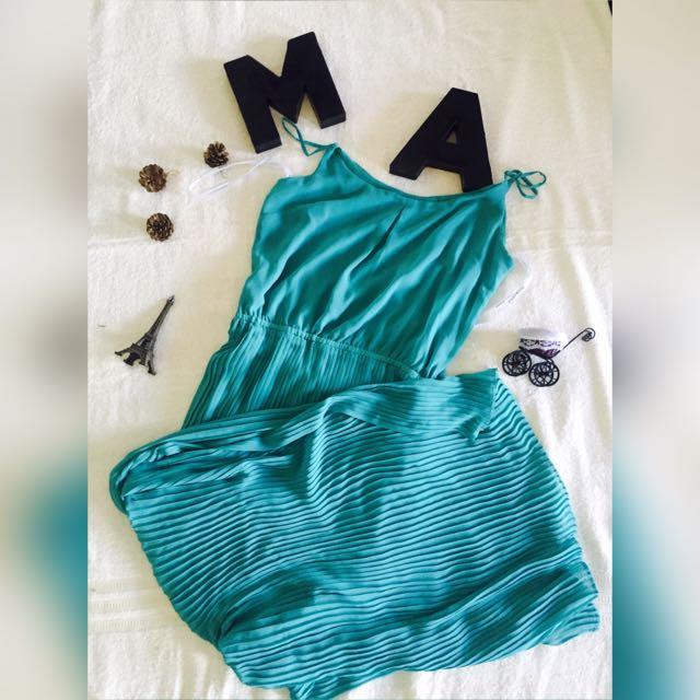Preloved Bisou Bisou Chiffon Long Dress