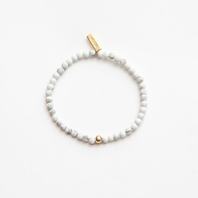 Recovery / Matted Surface 4MM-Stone Bracelet / 霧面4MM-天然串珠手環