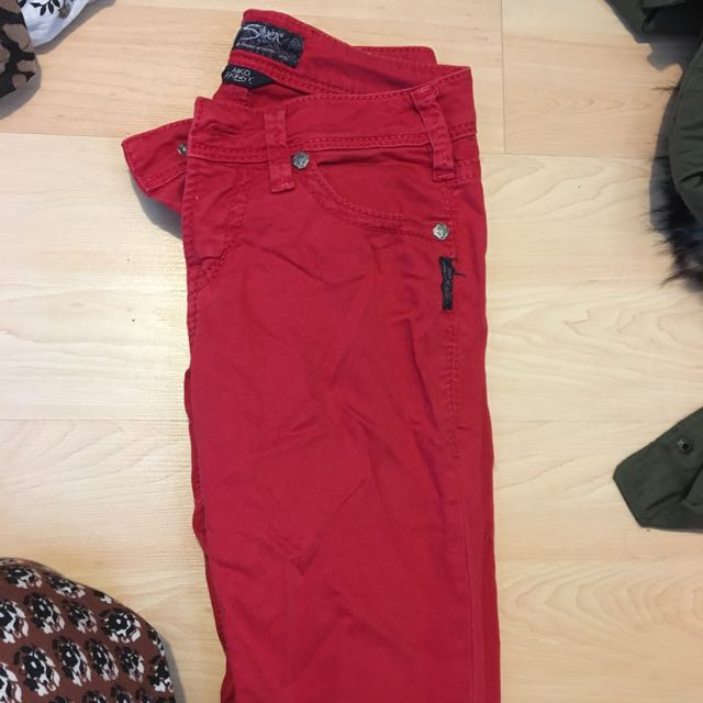 Red Silver Jeans
