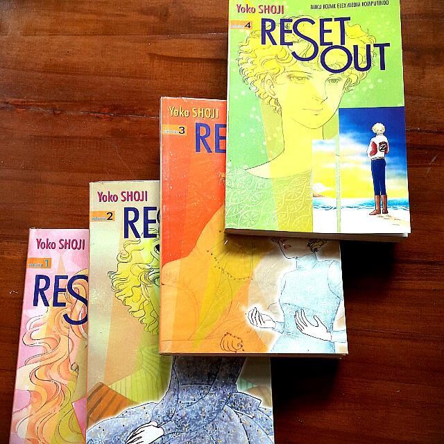 Reset Out Comic (By Yoko Shoji)