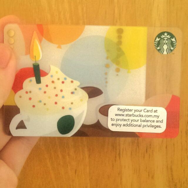 RM20 Starbucks Gift Card