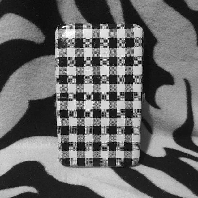 "Small B&W ""Call It Spring"" Wallet"