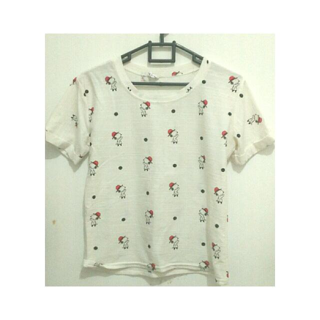 (Reprice) Snoopy T-shirt