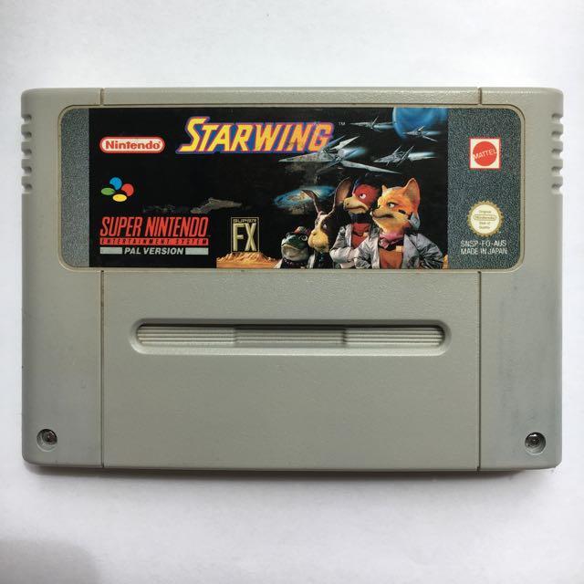 Star Wing For Super Nintendo