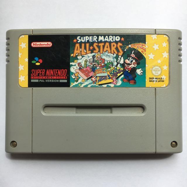 Super Mario All Stars For Super Nintendo