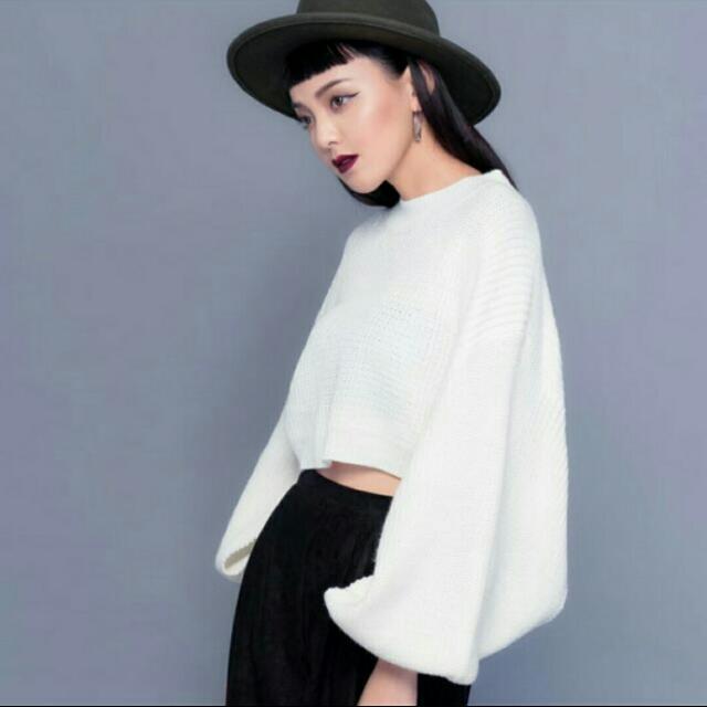 Vii&Co購  💯短版 針織毛衣