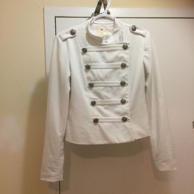 White Blazer From Forever 21