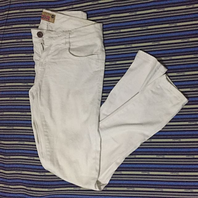 White Crissa Pants