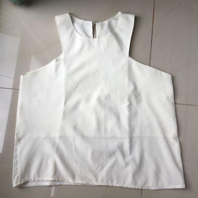 X Tanktop White