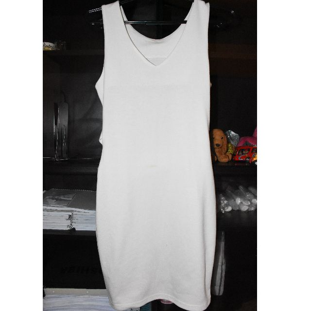 Zalora White Bodycon Dress